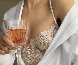 drink, lace, and photography image