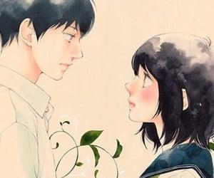 romance, manga couple, and akari yamamoto image