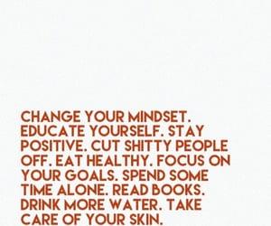 focus, goals, and quote image