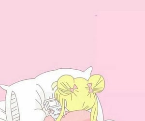 anime, sailor moon, and pink image