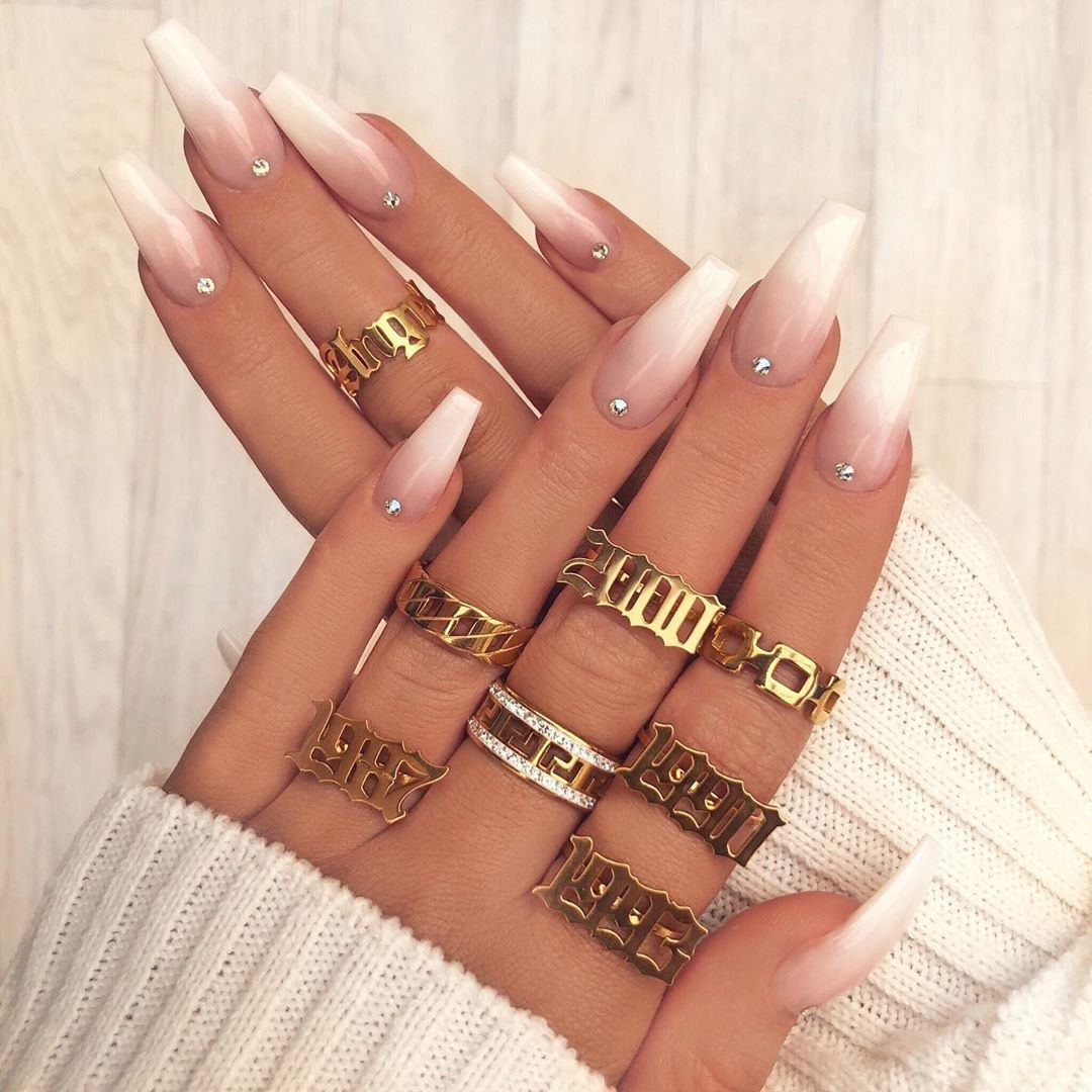 fashion, nails, and jewelry image