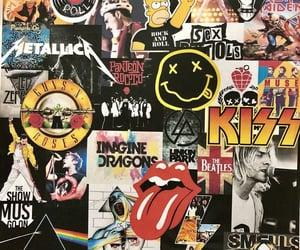 hard rock, wallpaper, and music image