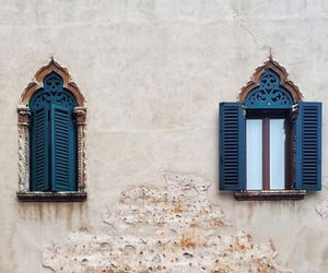 blue, travel, and architecture image