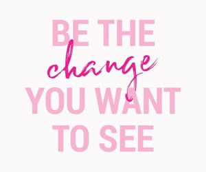 be, the, and change image