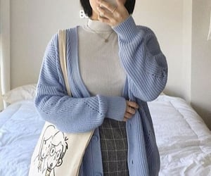 baby blue, iphone, and outfits image