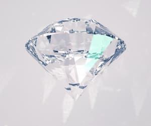 aesthetic, crystal, and diamond image