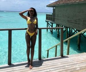 abs, bikini, and fitness image