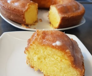 cake, lemon cake, and food inspo image