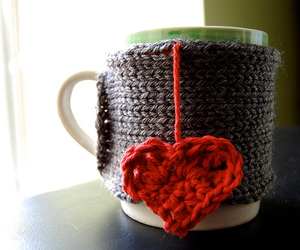 tea, cup, and heart image