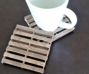 crafts, popsicle sticks, and diy coasters image