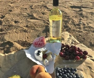 food, beach, and delicious image