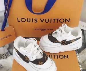 Louis Vuitton and sneakers image