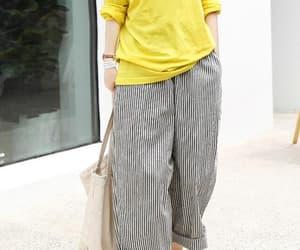 etsy, comfy pants, and loose pants image