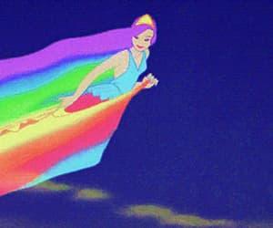 disney, rainbow, and fantasia image