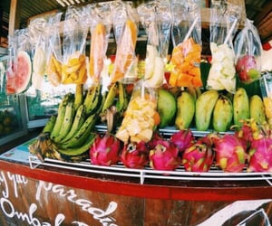 aesthetic, colorful, and fruit image