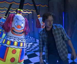 it, stephen king it, and james mcavoy image