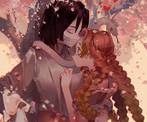 anime, demon slayer, and mitsuri image