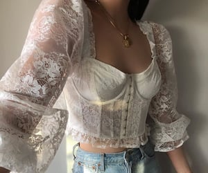 aesthetic, blouse, and classy image