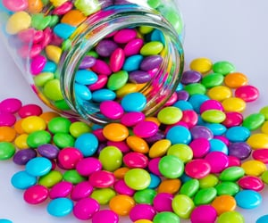 rainbow, sweet, and candy image