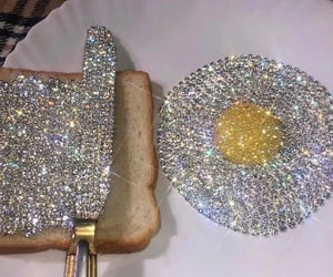 aesthetic, diamond, and glitter image
