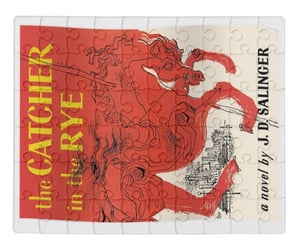 catcher in the rye, jd salinger, and posters image