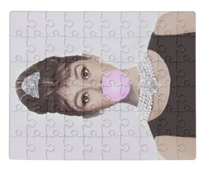 audrey heburn, redbubble art, and laptop case image
