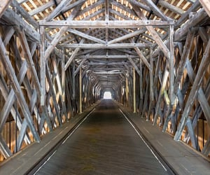 border, river, and bridge image