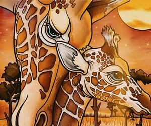 art, animal, and disegno image