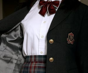 school, aesthetic, and uniform image