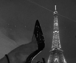 paris, shoes, and fashion image
