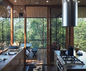 architecture, home, and kitchen image