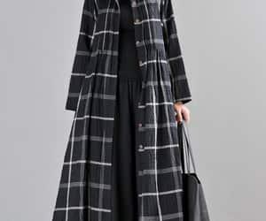 boho, women's linen dress, and maxi linen dress image