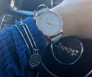 bracelet, girly, and M image