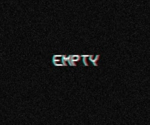 black, empty, and relatable image