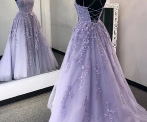 dress, Prom, and party dress image