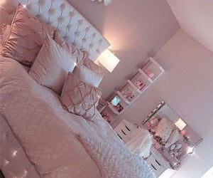 bed, bedroom, and room ideas image