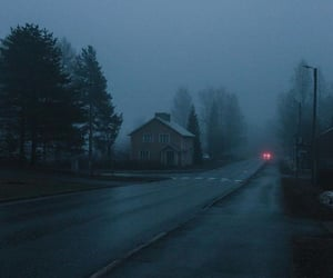 fog, house, and aesthetic image