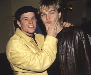 leonardo dicaprio, Leo, and mark wahlberg image