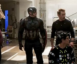 Avengers, gif, and chris hemsworth image