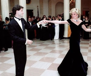 dance, John Travolta, and diana image