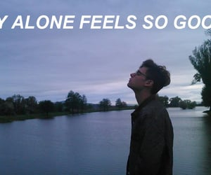 alone, good, and tumblr image
