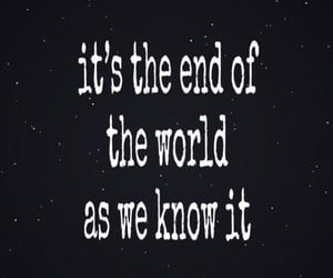 apocalypse, end of the world, and song image