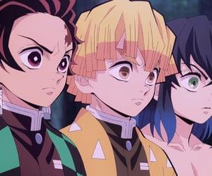 demon slayer, cute anime boys, and kimetsu no yaiba image