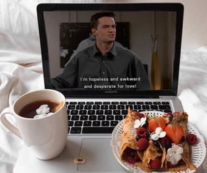 breakfast, friends, and bed image