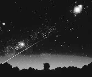 anime, night sky, and gif image