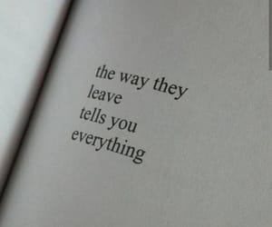 leave, everything, and quotes image