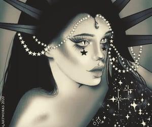 goddess, night, and NYX image