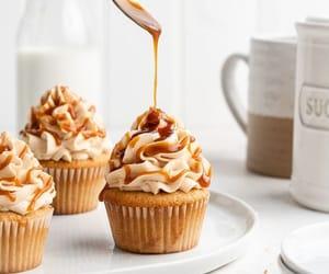 cupcake, dessert, and yummy image