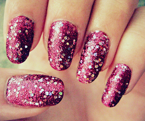 girl, girly, and glitter image
