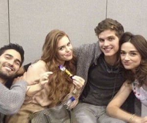 teen wolf and crystal reed image